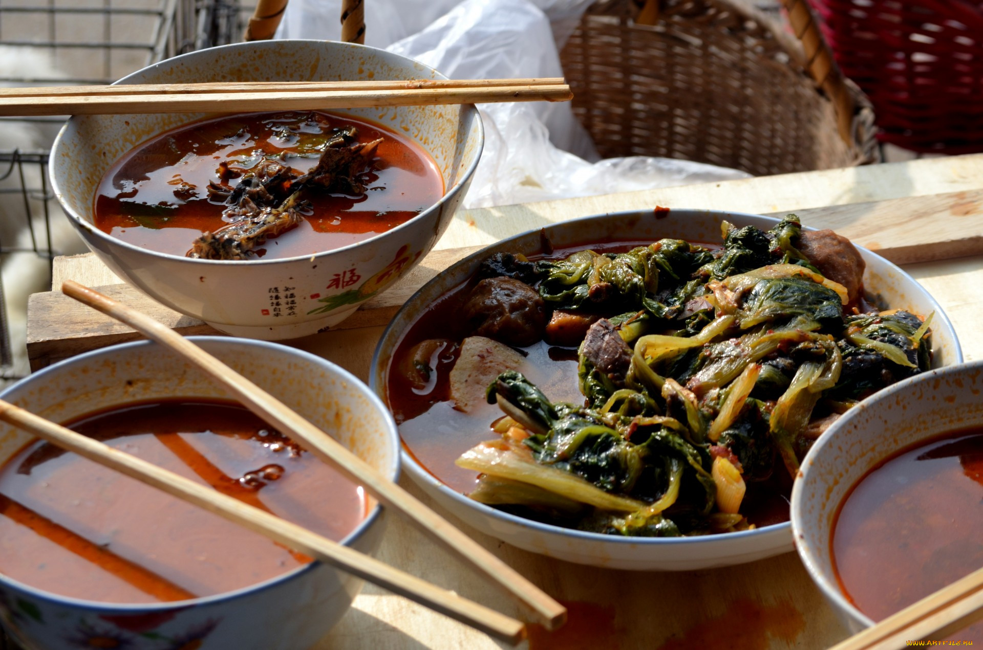 плотно, кухня китай фото блюд считается очень редким